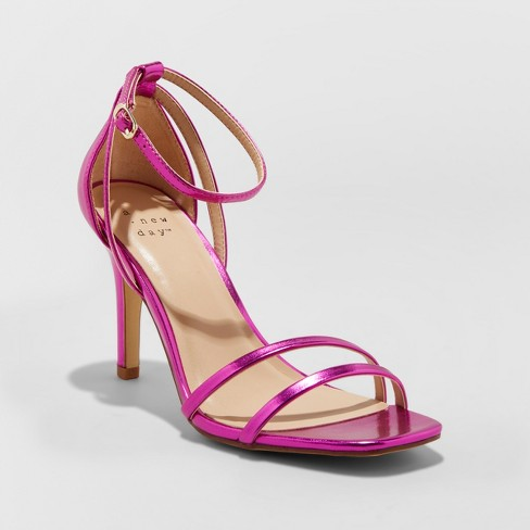 Women's Kayce Strappy Stiletto Heeled Pumps - A New Day™ - image 1 of 3