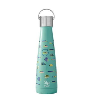 Sip by Swell 15oz Water Bottle Blue Glass