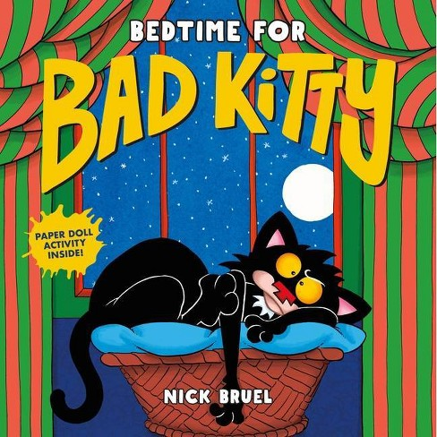 Bedtime for Bad Kitty - by Nick Bruel (Hardcover) - image 1 of 1