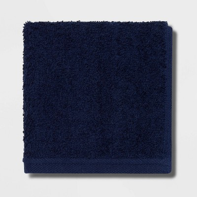 Everyday Washcloth Navy - Room Essentials™