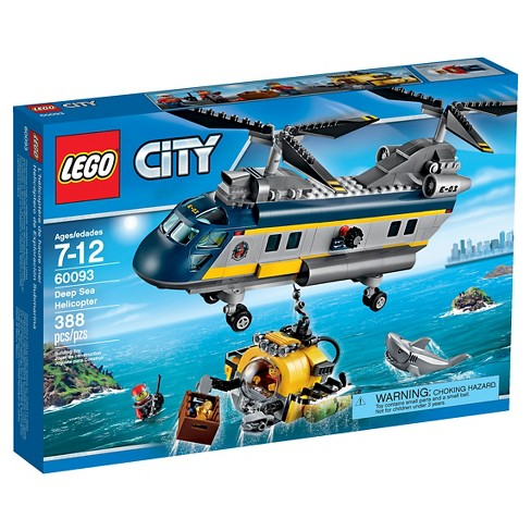 LEGO® City Deep Sea Explorers Helicopter 60093 - image 1 of 8