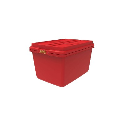 Hefty 18gal Hi Rise Storage Tote with Lid