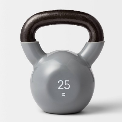 Kettlebell 25lb Gray - All In Motion™