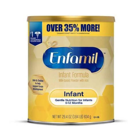 Enfamil Infant Formula with Iron Powder - 29.4oz - image 1 of 3