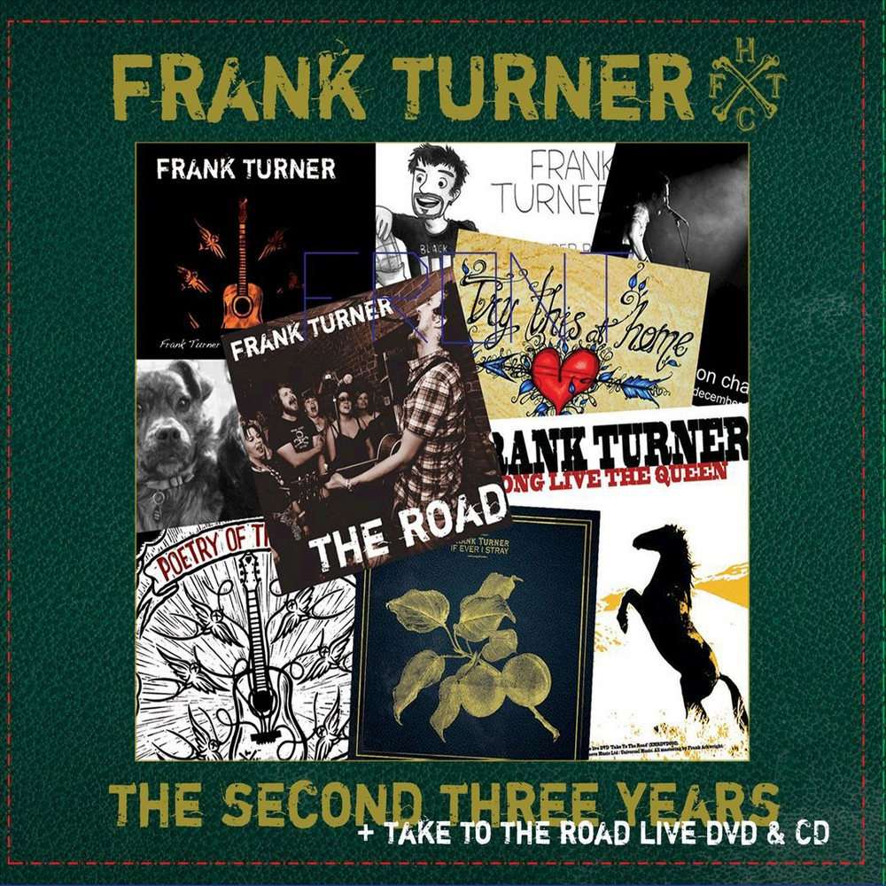 Frank Turner - Second Three Years/Take To The Road (CD)