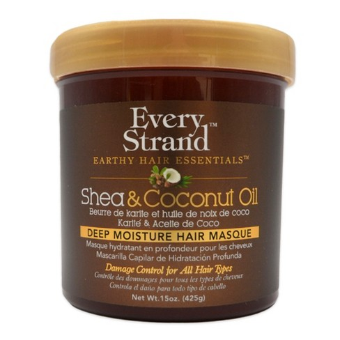 Every Strand Shea and Coconut Oil Deep Hair Masque - 15oz - image 1 of 1