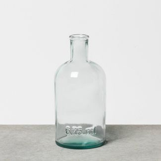Small Clear Glass Vase - Hearth & Hand™ with Magnolia