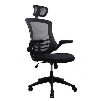 Modern Task Chair Black - Techni Mobili