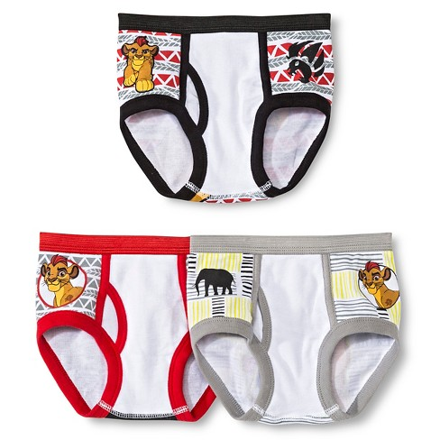Disney Toddler Boys' Lion Guard 3 Pack Classic Briefs - image 1 of 2