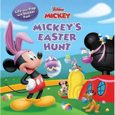 Mickey Mouse Clubhouse Mickey's Easter Hunt - (Paperback)