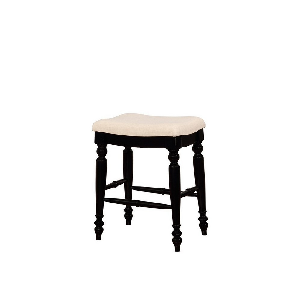 Cool Marino Backless Counter Stool Black Linon Gmtry Best Dining Table And Chair Ideas Images Gmtryco