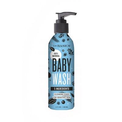S.W. Basics Baby Bath Wash - 8oz