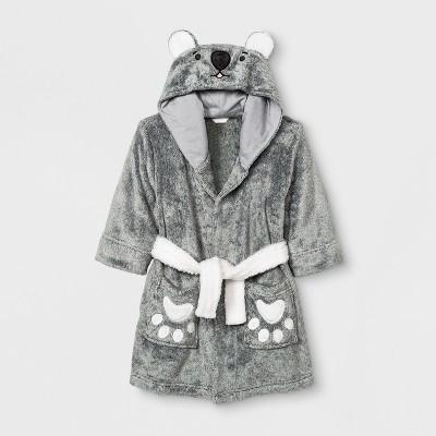 Toddler Boys' Koala Robe - Cat & Jack™ Gray 2T-3T