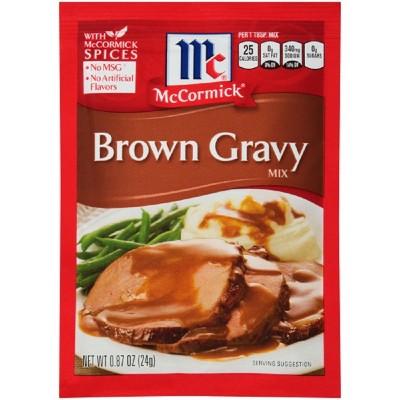 Sauces & Marinades: McCormick Gravy Mix
