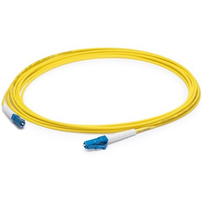 AddOn 3m LC (Male) to LC (Male) Yellow OS1 Simplex Fiber OFNR (Riser-Rated) Patch Cable - 100% compatible and guaranteed to work