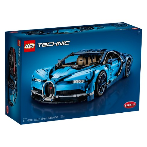 Lego Technic Bugatti Chiron 42083 All