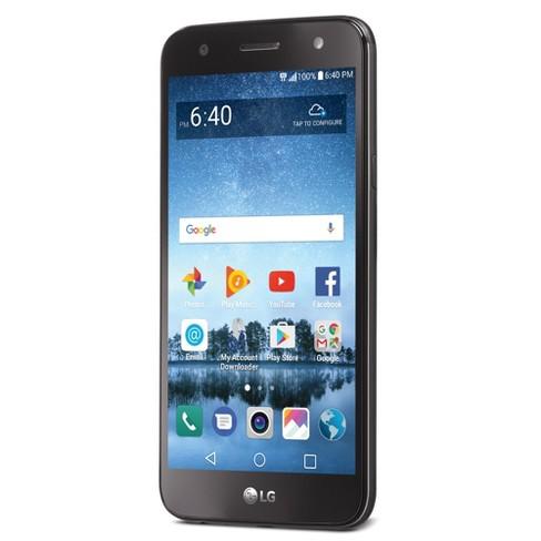 Simple Mobile LG FIESTA 2 LTE (L163BL) 16 GB Smartphone - Titan Gray