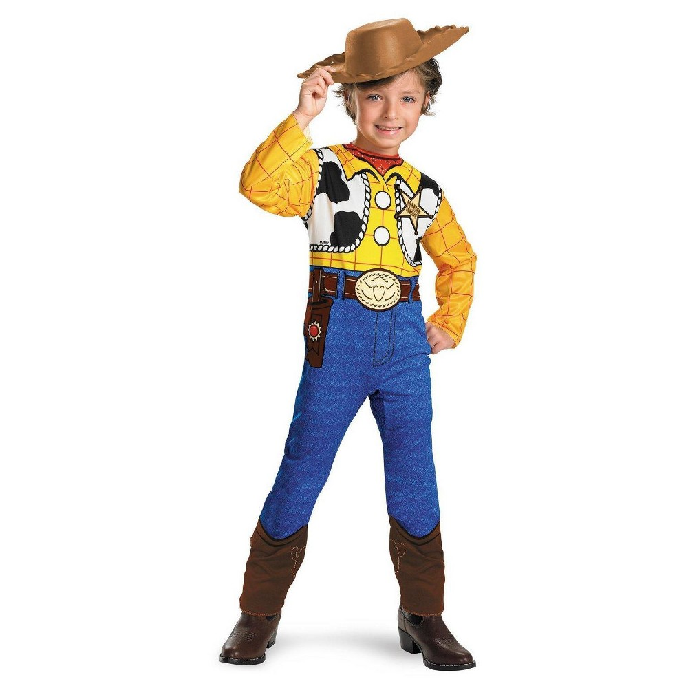 Toy Story Boys' Toddler Woody Costume 3T-4T