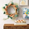 """19"""" Artificial Carrot Wreath - Opalhouse™ - image 2 of 3"""