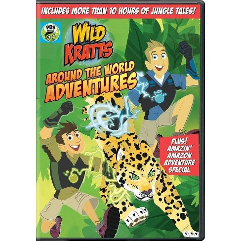 Wild Kratts: Around the World Adventures (DVD)(2020) - image 1 of 1