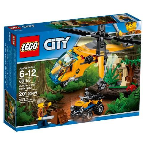 Lego City Jungle Explorers Jungle Cargo Helicopter 60158 Target