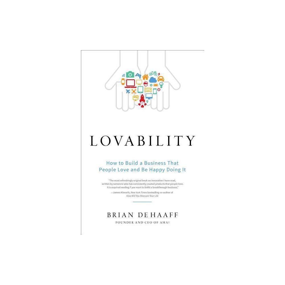 Lovability By Brian De Haaff Hardcover