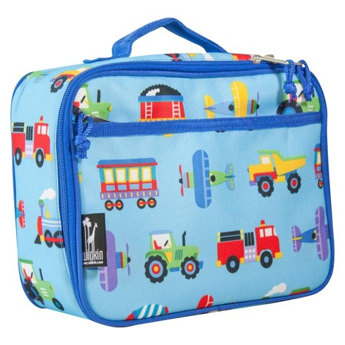 Wildkin Olive Kids Trains Planes & Trucks Lunch Box - image 1 of 2