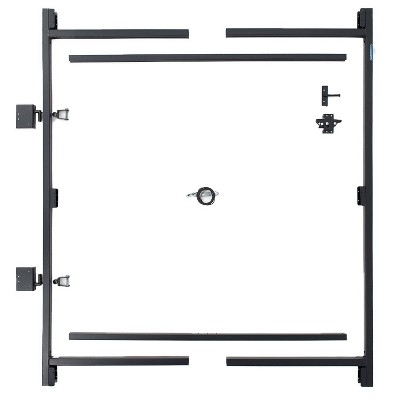Adjust-A-Gate Adjustable Heavy Duty Steel Frame Anti Sag Gate Building Repair Kit, 60 to 96 Inches Wide Opening Up To 6 Feet High Fence
