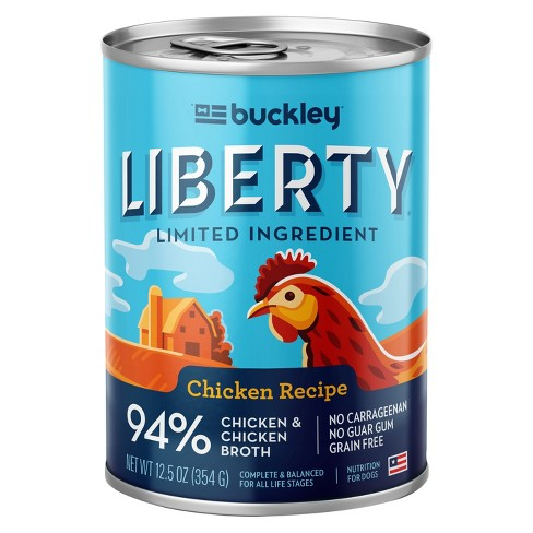 Buckley Liberty Wet Dog Food Chicken - 12.5oz - image 1 of 1