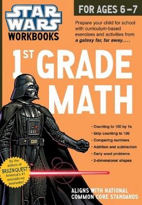 Star Wars Workbook: Grade 1 Math! (Paperback) by Brain Quest