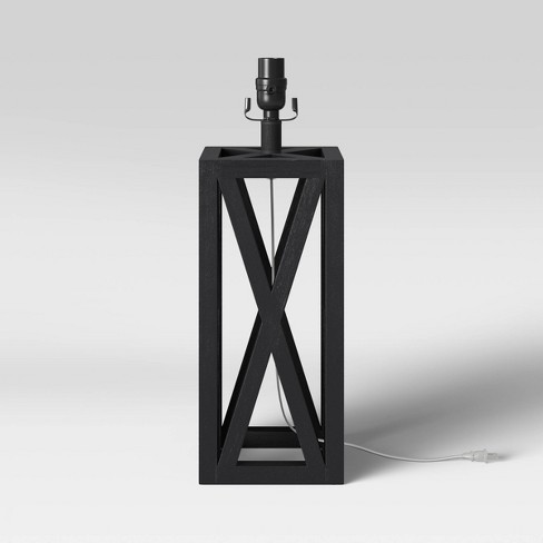 Small Box Lamp Base Black Threshold