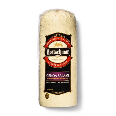 Kretschmar Genoa Salami - Deli Fresh Sliced - price per lb - image 1 of 4