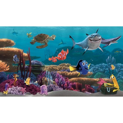 6'x10.5' Finding Nemo Prepasted Mural Ultra Strippable - RoomMates