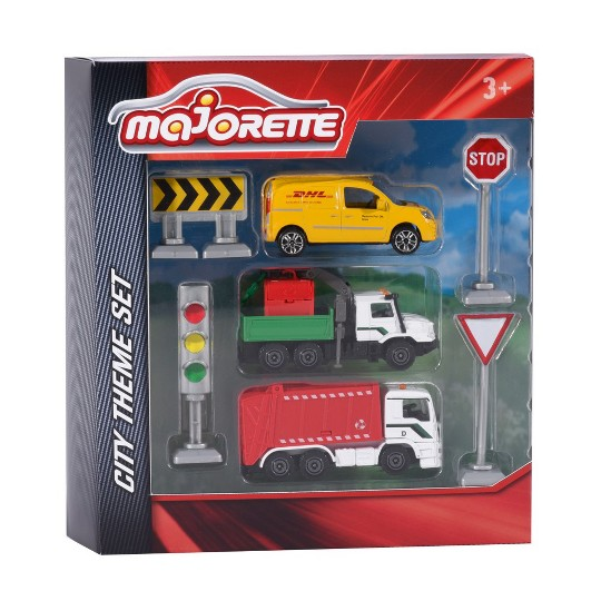 Dickie Toys Majorette City 7pc image number null