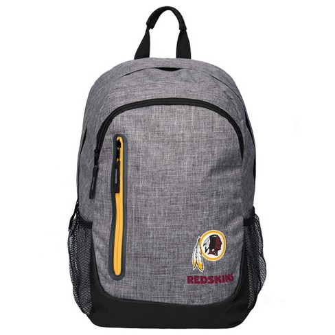 NFL Washington Redskins Forever Collectibles - Heather Gray Bold Color Backpack - image 1 of 3