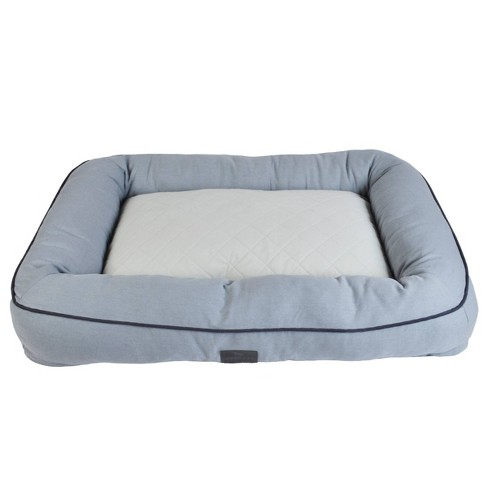 Sporting Dog Solutions Rectangle Bolster Dog Bed - L - Gray - image 1 of 1