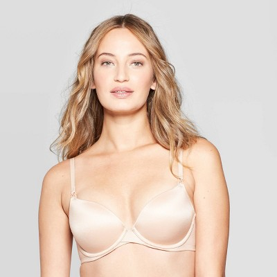 Women's Nursing Full Coverage T-Shirt Bra - Auden™ Pearl Tan 36B