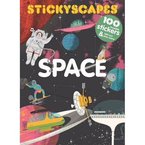 Stickyscapes Space - by  Stephen Ellcock (Paperback) - image 1 of 1