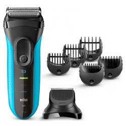 Braun Shave & Style 3010BT 3-in-1 Men's Wet & Dry Electric Shaver