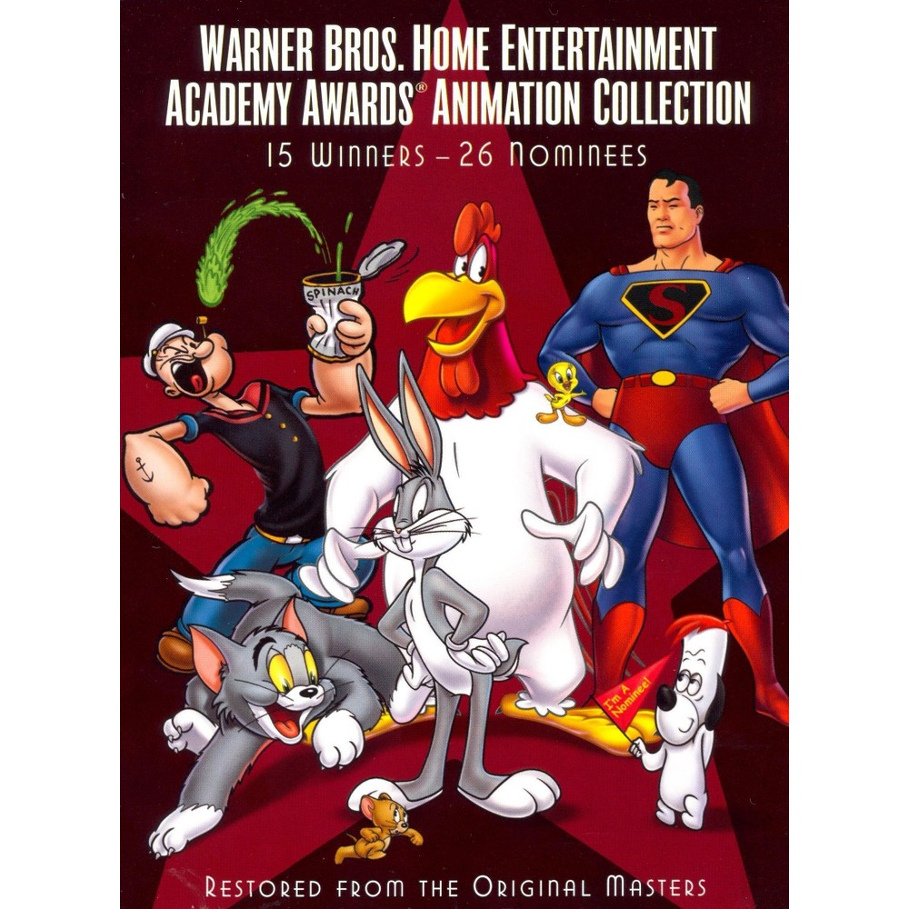 Warner Bros. Academy Awards Animation Collection: 15 Winners/26 Nominees (3 Discs) (dvd_video)