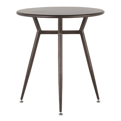 Clara Industrial Round Dinette Table - LumiSource