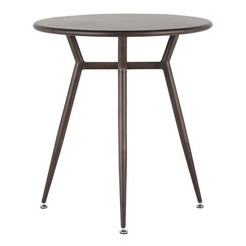 Clara Industrial Round Dinette Table - LumiSource - image 1 of 4