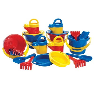 Dantoy Sand and Water Multi-Tools, Assorted Colors, set of 20