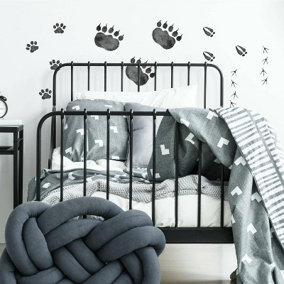 RoomMates Animal Tracks Peel and Stick Wall Decal
