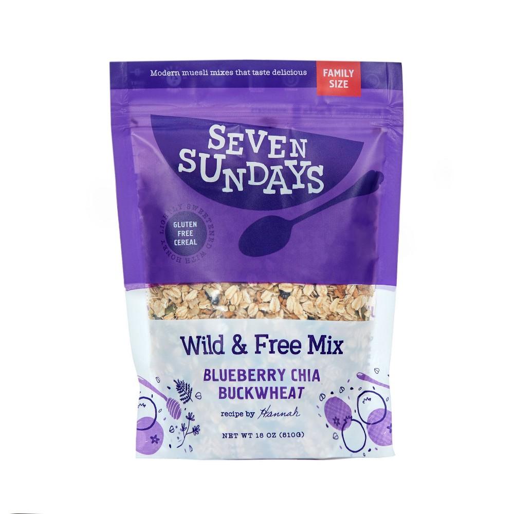 Seven Sundays Wild 38 Free Muesli 18oz