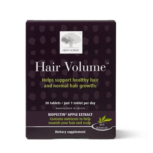 New Nordic Hair Volume Tablets - 30ct - image 1 of 3
