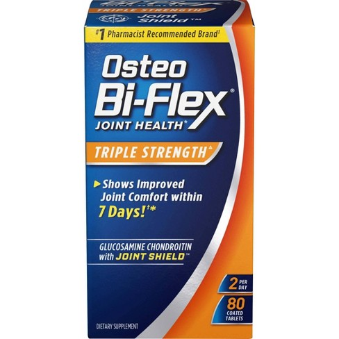 Osteo Bi-Flex Triple Strength Joint Health Dietary Supplement Tablets - 80ct - image 1 of 2