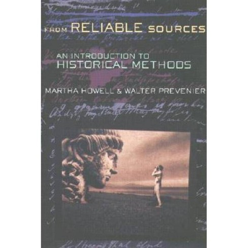 From Reliable Sources - Large Print by  Martha Howell & Walter Prevenier (Paperback) - image 1 of 1