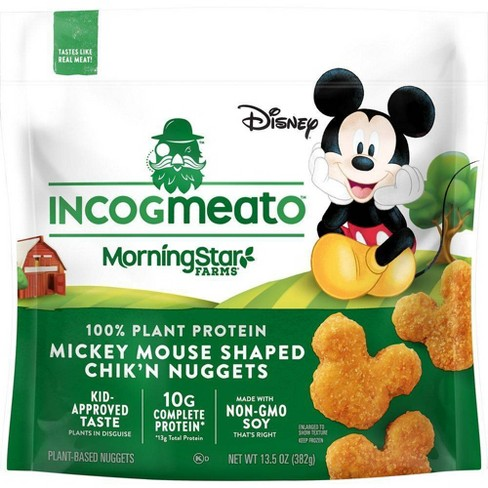 Incogmeato Chik'n Mickey Mouse Nuggets - Frozen - 13.5oz - image 1 of 2