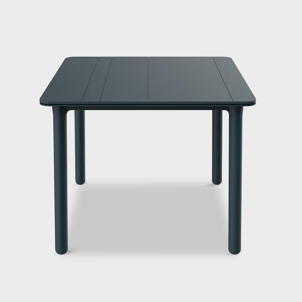 Noa Square Patio Table - Gray - Resol